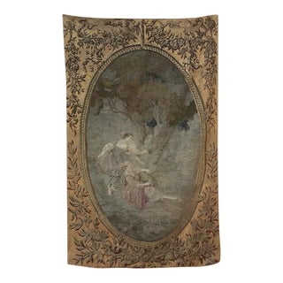 Early 19th Century Tapestry After a Watteau Work For Sale