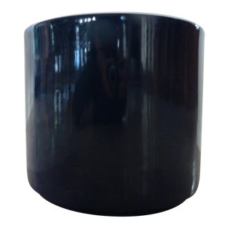 Mid-Century Cobalt Blue Gainey Pot For Sale