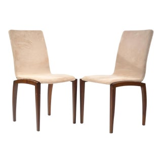 BoConcept Danish Style Chairs - a Pair For Sale