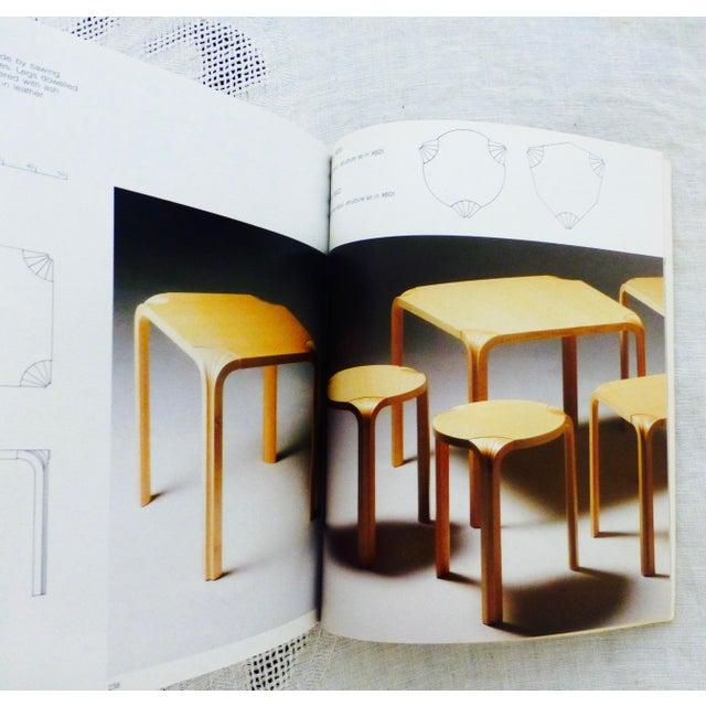 Paper Alvar Aalto Furniture Book For Sale - Image 7 of 9