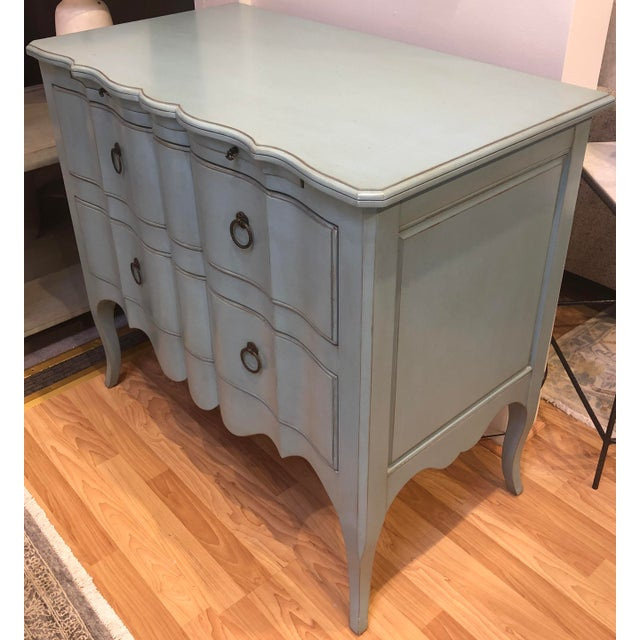 French Cotton Candy Blue Chest For Sale - Image 3 of 10