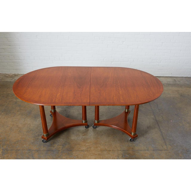 Early 20th Century Swedish Biedermeier Style Library or Dining Table For Sale - Image 5 of 13