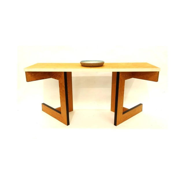 Early 21st Century Console Table or Desk by Eric Freeman For Sale - Image 5 of 6
