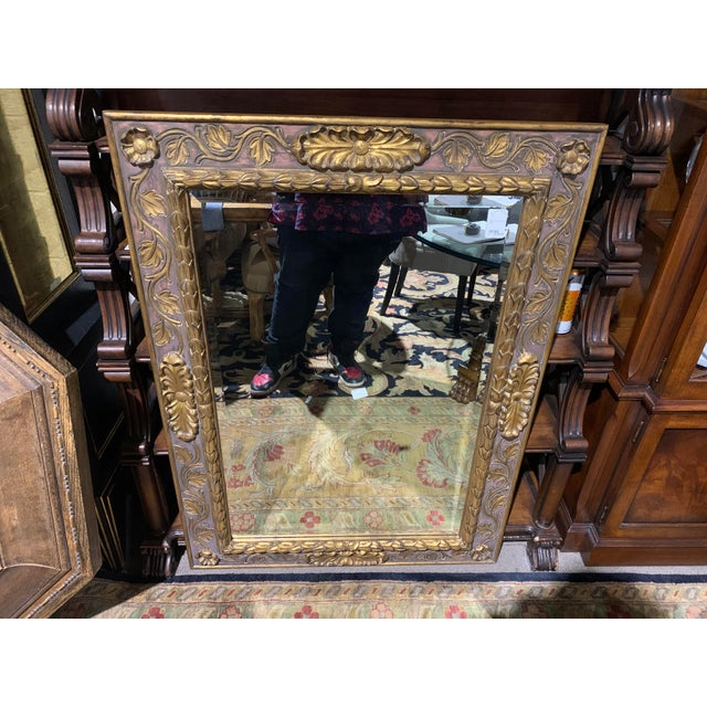 Wood Dauphine Harrison & Gil Mirror For Sale - Image 7 of 7