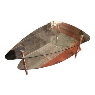 """Contemporary """"Atomic Age"""" Style Coffee Table For Sale"""