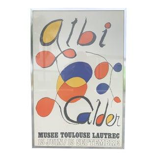 "1970s Alexander Calder Lithograph ""Albi Calder"" For Sale"