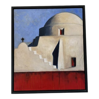 """Eglise de la Paraportiani"" by Pam Lacayo, Mexico, 2007 For Sale"
