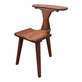 1900s Vintage M. Hayat Bros Rosewood Smoking Chair For Sale