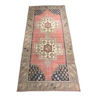 "Vintage Turkish Oushak ""Ruth"" Rug - 4' x 8'8"""