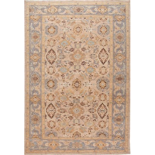 21st Century Modern Persian Sultanabad Oversize Wool Rug 13 X 19 For Sale