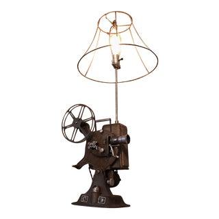 1930s Vintage Keystone Film Projector Industrial Lamp For Sale