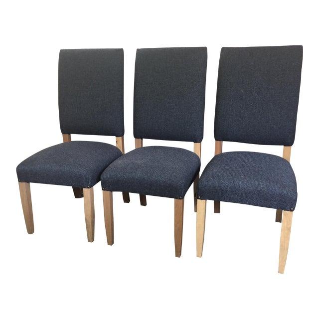 Cool Navy Blue Performance Fabric Dining Chairs Set Of 6 Inzonedesignstudio Interior Chair Design Inzonedesignstudiocom