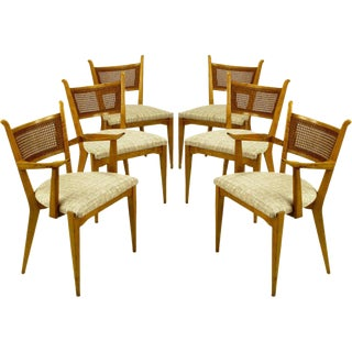 Set Six Edmond Spence Swedish Dining Chairs For Sale
