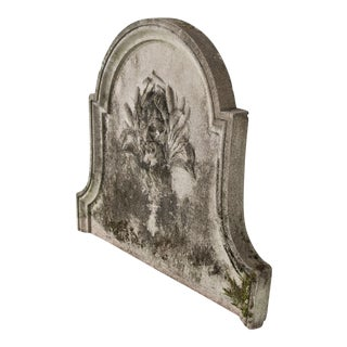 1830 Antique French Wall Stone Fountain For Sale