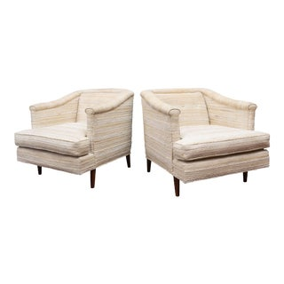 Edward Wormley Lounge Chairs for Dunbar - a Pair For Sale
