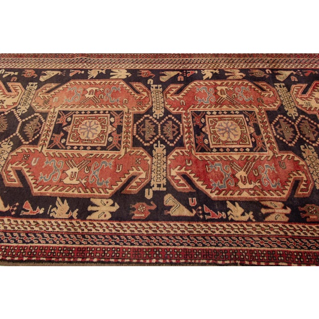 """Apadana - Vintage North West Persian Rug, 4'3"""" X 10'4"""" For Sale In New York - Image 6 of 8"""