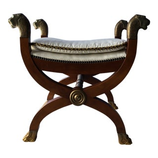 Baker English Regency Bedroom Bench For Sale