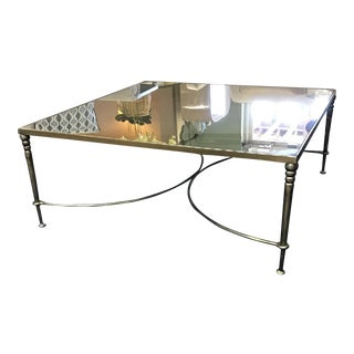 Contemporary Orleans Square Cocktail Table For Sale
