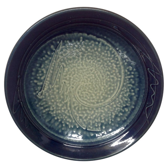 Blue & White Studio Pottery Bowl - Image 1 of 5