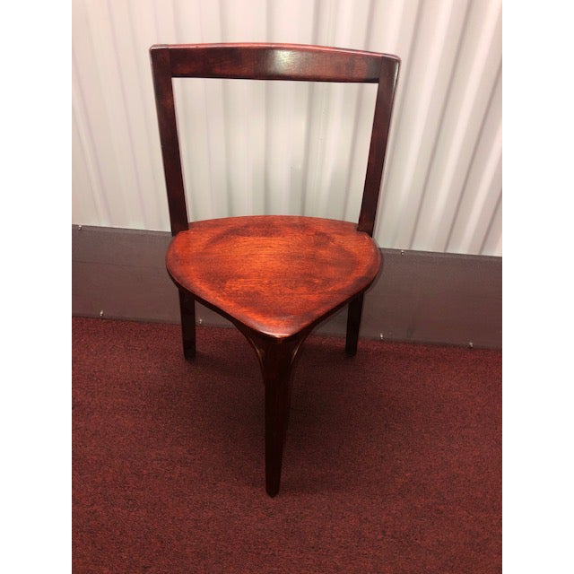 Snug Seat Soda Fountain Chairs & Table - 5 Pieces For Sale - Image 4 of 13