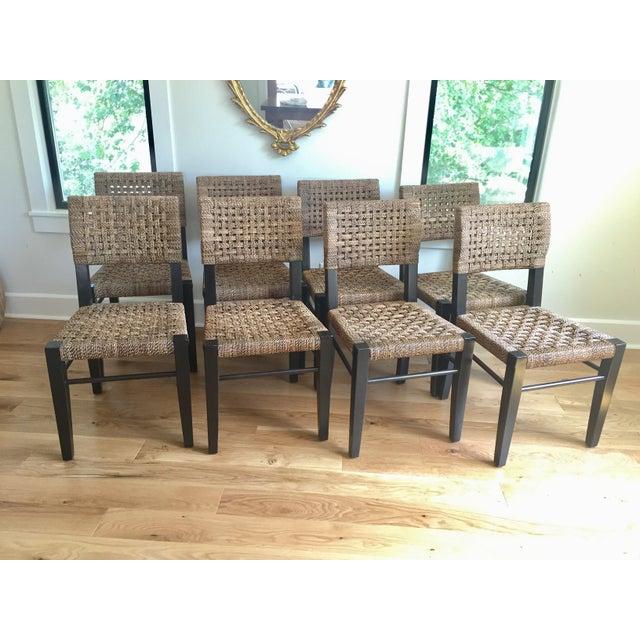 Palecek Panamawood Dining Chair - Set of 8 - Image 4 of 9