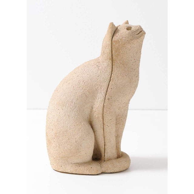 """Cat Sculpture """"Secrets of the 1970s"""" For Sale - Image 4 of 7"""