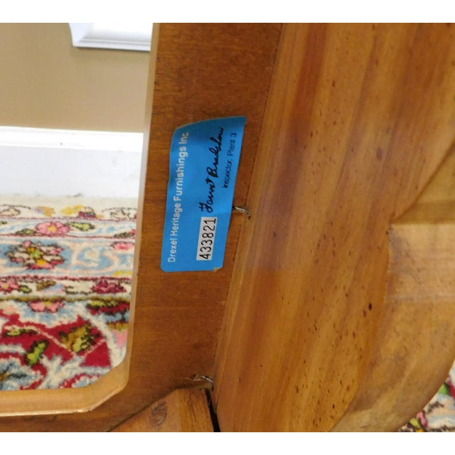 Brown Drexel Heritage Cabernet Collection Coffee Table For Sale - Image 8 of 9
