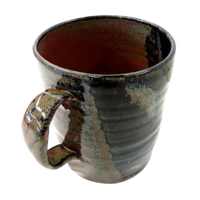 Hand-Thrown Artisan Shaving Mug For Sale