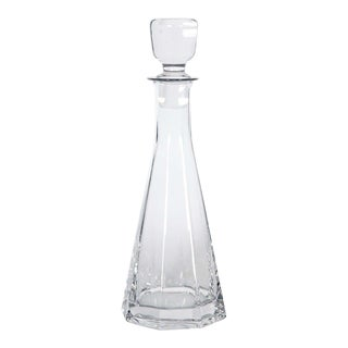 French Crystal Carafe For Sale