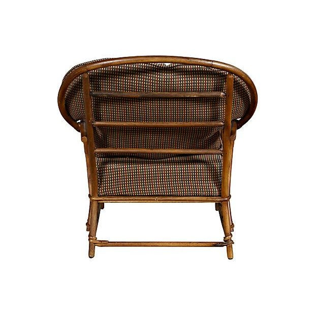 1950's Rattan Lounge Chair - Image 2 of 5