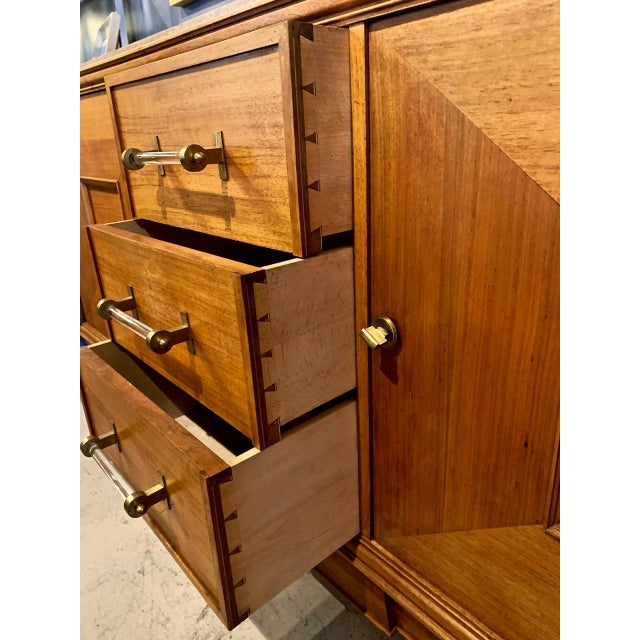 1950s French Moderne Credenza For Sale - Image 9 of 12