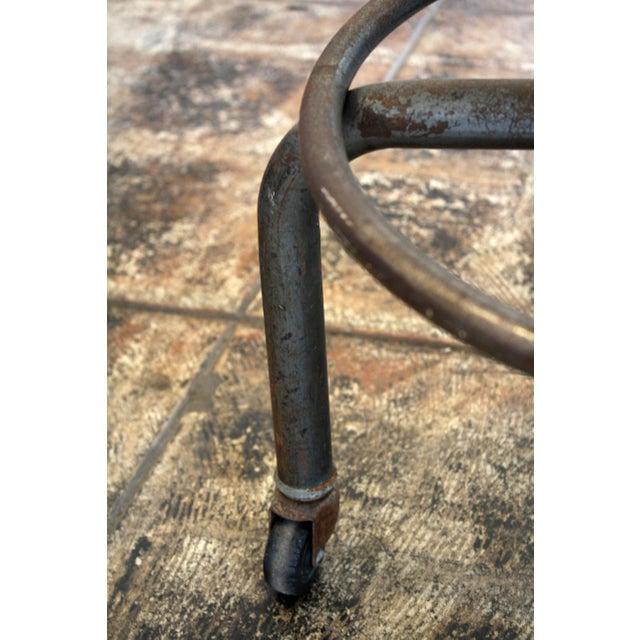 Vintage Brown Task Chair - Image 4 of 7