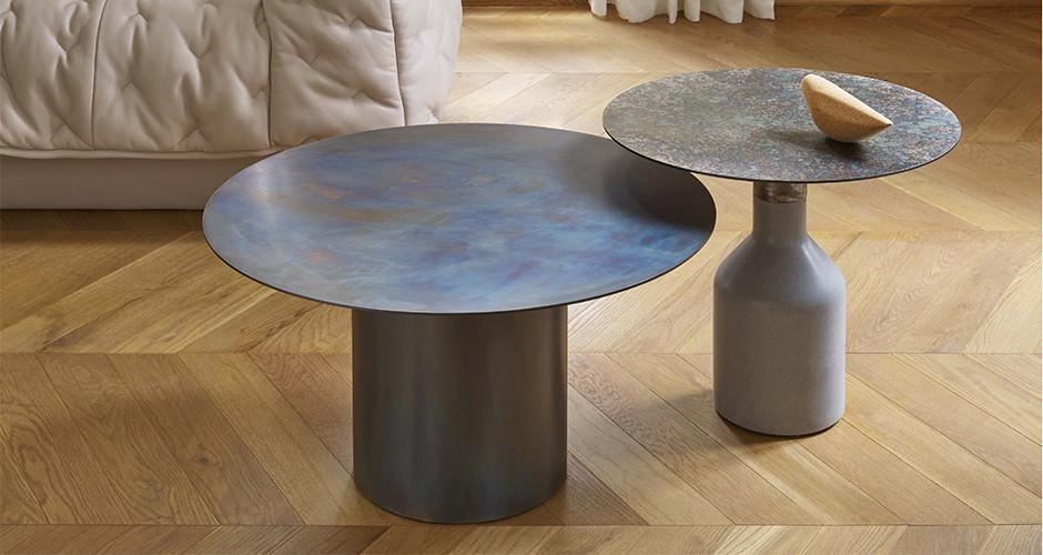 This Collection Of Tables Draws Inspiration From Contemporary Architecture,  Sculpture, And Research Into The