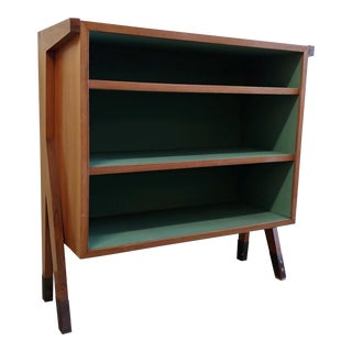 1950s Modern Bookshelf in the Manner of Gio Ponti For Sale