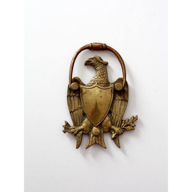 Antique Brass Eagle Door Knocker - Image 4 of 6