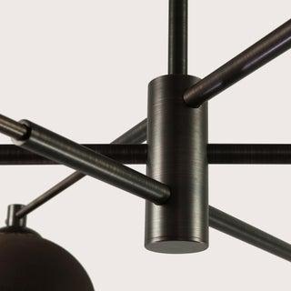 Pax Lighting Dixon Six Light Ceiling Fixture Preview