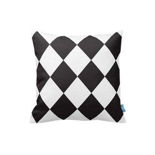 Black & White Geometric Decorative Pillow Cover