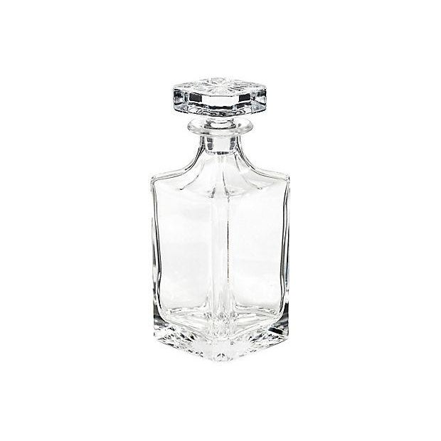 1950s Square Glass Decanter - Image 2 of 5