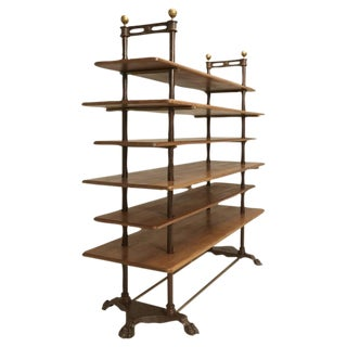 French Antique Etagere or Display Stand For Sale
