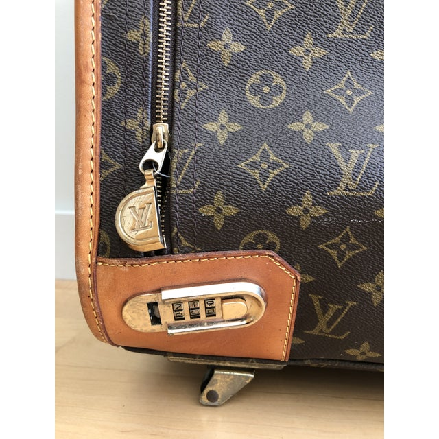 Metal 1980s Vintage Louis Vuitton Pullman 75 Luggage For Sale - Image 7 of 13