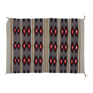 Vintage Navajo Style Rug - 2′8″ × 3′9″ For Sale