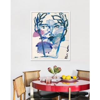 "Medium ""Roman Face"" Print by Leslie Weaver, 25"" X 32"" Preview"