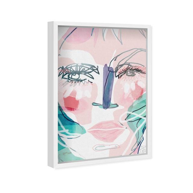"""Oliver Gal Medium 'Meghan ' Framed Art 18"""" x 26"""" For Sale - Image 4 of 7"""