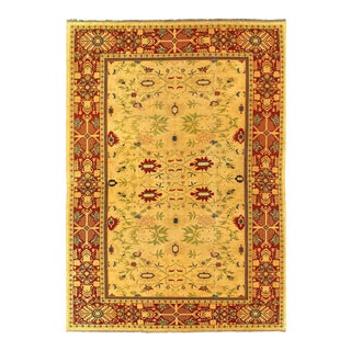 Pasargad Ivory Fine Hand Woven Sultanabad Rug 12' X 18' For Sale