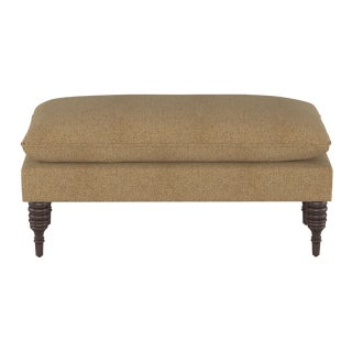 Pillowtop Bench in Aiden Almond For Sale