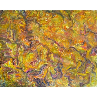 """Baltic Amber"" by Trixie Pitts Extra-Large Abstract Painting For Sale"