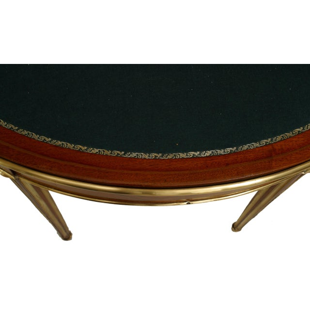 Mid 18th Century 18th Century French Louis XVI Flip Top Console Card Table For Sale - Image 5 of 7