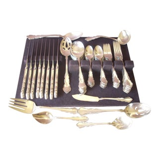 Reed & Barton Silverplate Service for 8