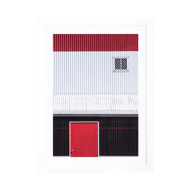 Red White Black by Jacqueline Hammer Framed Print - Image 1 of 3