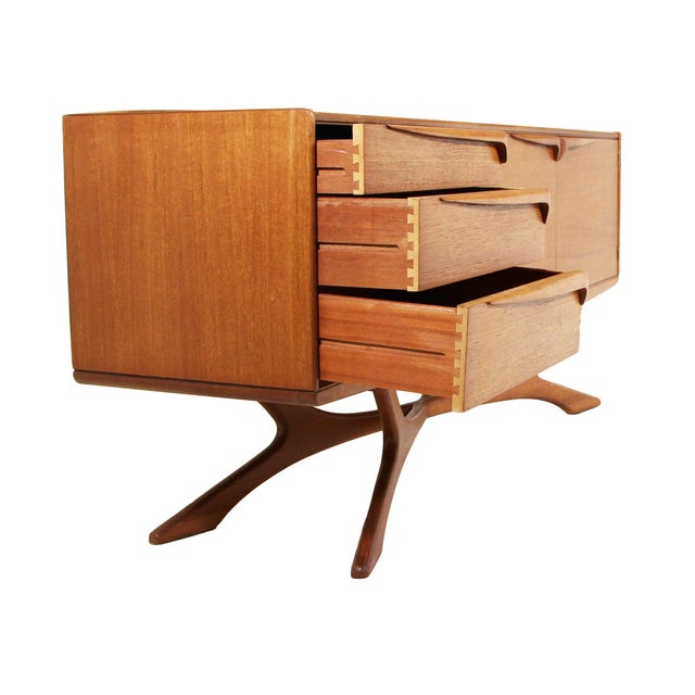 Mid-Century Modern Mid Century Modern Credenza by Beithcraft For Sale - Image 3 of 9